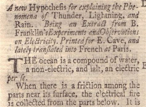Book Reports On Benjamin Franklin by Benjamin Franklin S Electricity And Lightning Book
