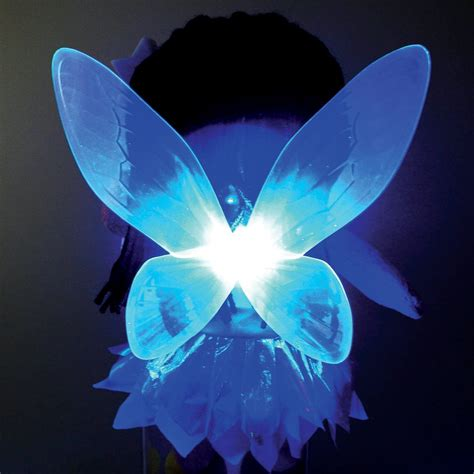 light up fairies sky glow fairies colour changing wings sparkling wand