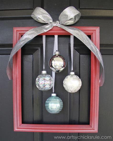 diy christmas front door decorations
