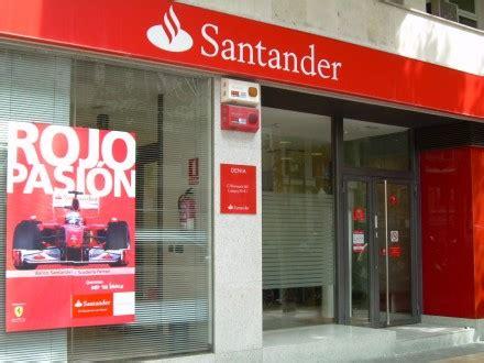sucursal banco santander banco santander d 233 nia