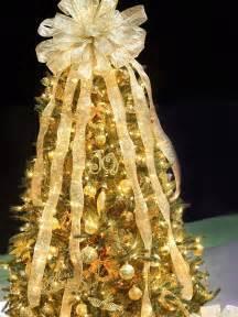 Christmas Tree Gold Decorations 25 Beautiful Christmas Tree Decorating Ideas