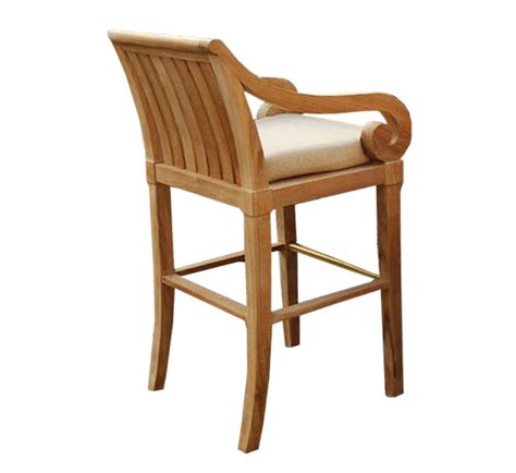 teak outdoor bar stools san pietro teak bar stool bar counter stools style
