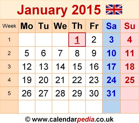 January 2015 Calendar January 2015 Month New Calendar Template Site
