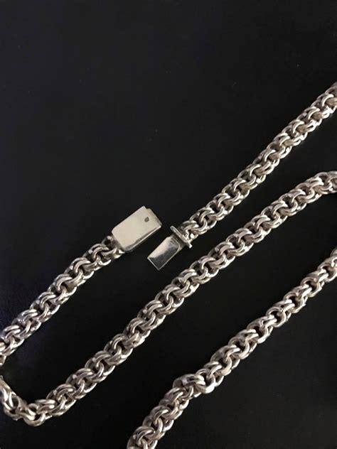 cadena de plata ga01 925 cadena tejido chino plata 925 checa publicacion