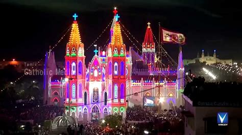 christian new year song hindi vailankanni festival 2014 hd flag hoisting part 2