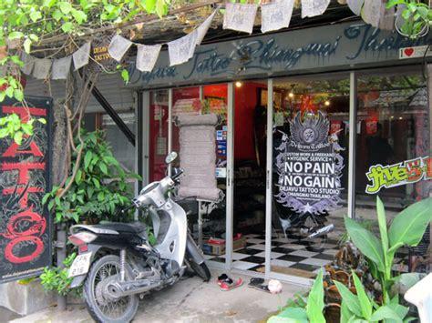 tattoo parlor chiang mai dejavu tattoo studio 1 ratpakinai rd chiang mai