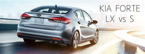 What Is The Difference Between Kia Forte Lx And Ex 2017 Kia Forte Lx Vs S Comparison