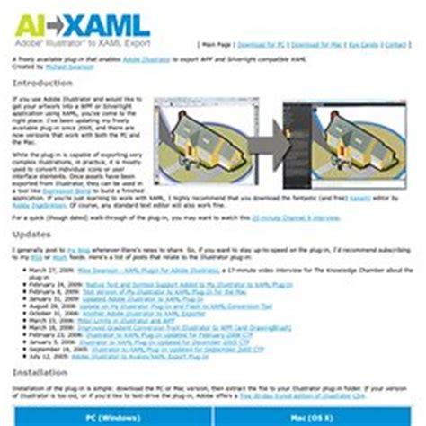 Adobe Illustrator Cs6 Xaml Export | developer keith9820 pearltrees
