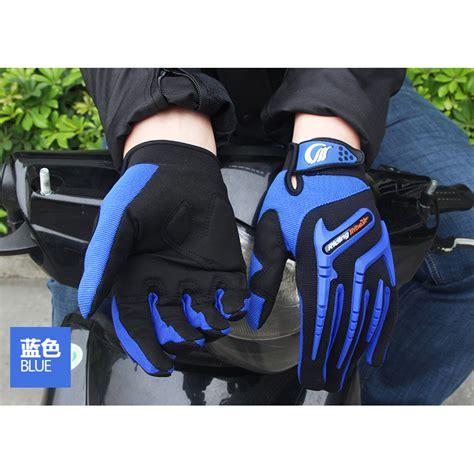 Sarung Tangan Motor Tdr sarung tangan motor tribe touch screen size l blue jakartanotebook
