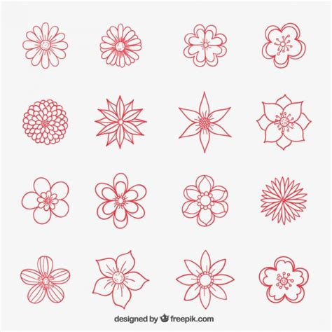 doodle drawing flowers how to draw a flower dr