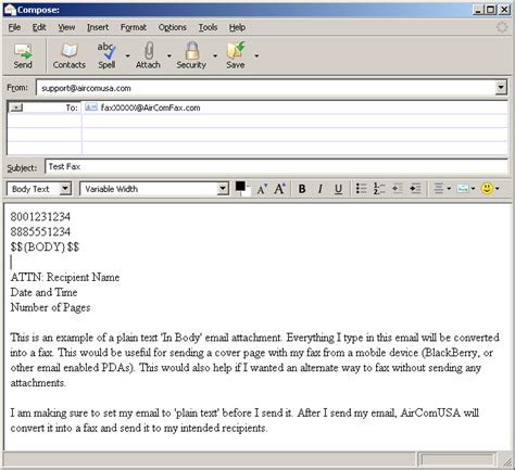 format email body javascript sending the body of an email as a fax images frompo