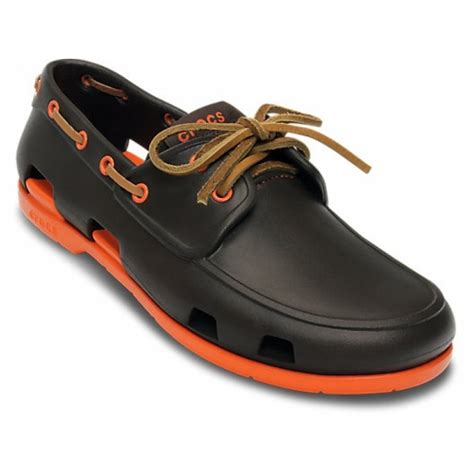 crocs beach line boat shoe uk crocs beach line mens boat shoes all sizes in various