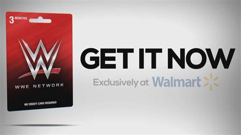 Wwe Gift Cards - wwe network gift cards are the perfect holiday stocking stuffer available at walmart