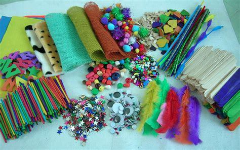 craft materials craft materials display by dalian kangda arts crafts co
