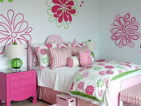 pink and green s bedding contemporary s room
