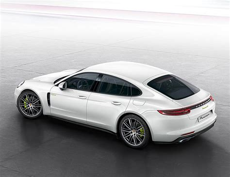 electric porsche panamera porsche unveils a wicked wagon the 2018 panamera turbo s