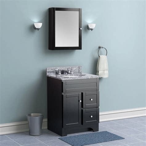 Black Wood Bathroom Vanity by Blue Black Bathroom Decoration Using Black Wood Narrow