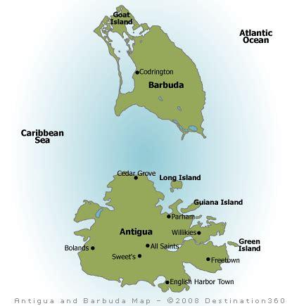 antigua and barbuda map antigua map map of antigua and barbuda