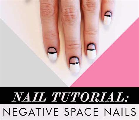 nail art negative space tutorial negative space nail tutorial diy alldaychic