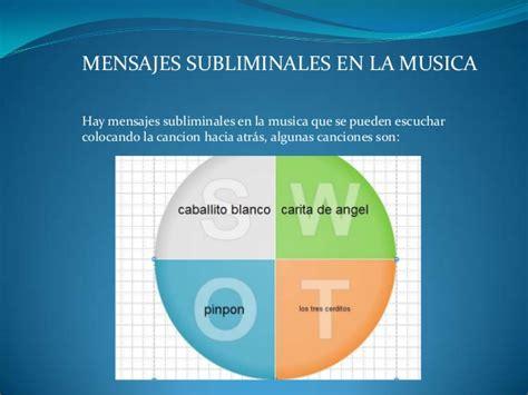 mensajes subliminales and musica mensajes subliminales