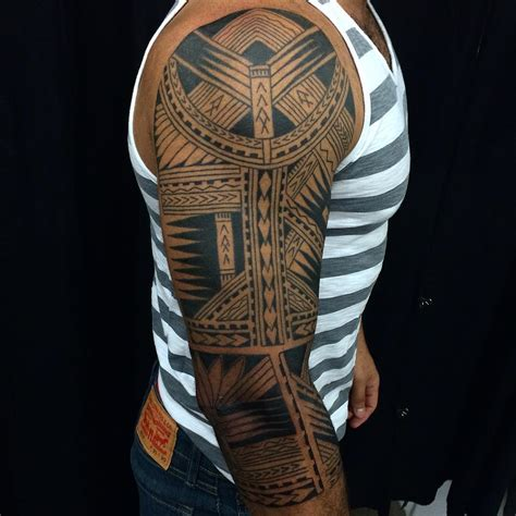 samoan style tattoo designs 60 best designs meanings tribal