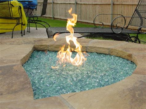 Glass Firepit Decorative Glass