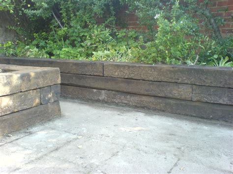 Railway Sleepers York by 47 Best Images About Retaining Walls Sles On