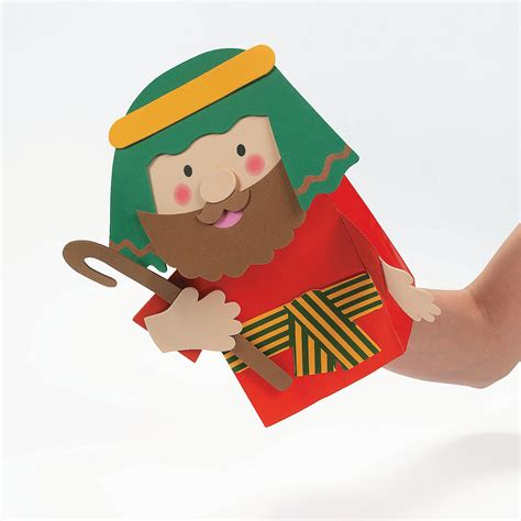 Paper Bag Puppets - holy family paper bag puppets craft kit trading