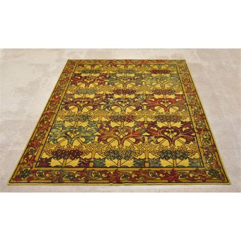 Mission Area Rugs 5x8 5 6 Quot X 8 Nourison Timeless Arts Crafts Mission Style Wool Area Rug Area Rugs