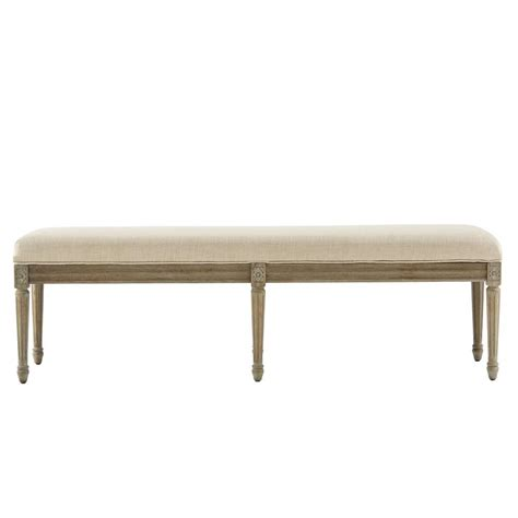 Home Decorators Bench by Home Decorators Collection Jacques Antique Brown Bench 9963600350 The Home Depot