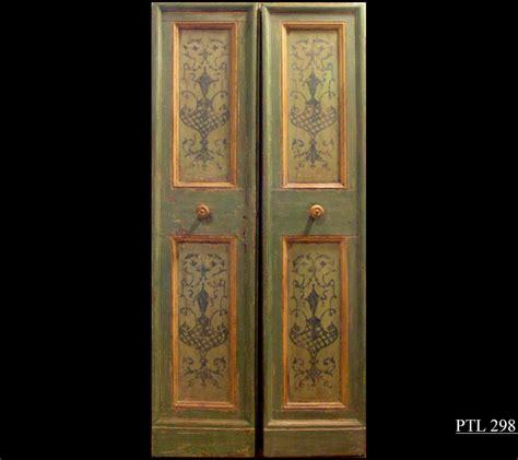 porte antiche laccate marro ed il regno delle porte antiche