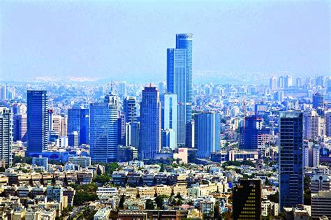 tel aviv future skyline report touts israel as future financial hub hamodia