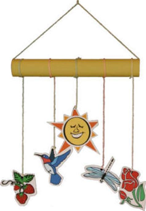 mobile craft summer mobile for