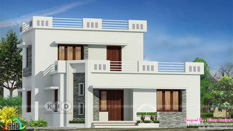 flat roof 3 bedroom house kerala home design and floor plans 1444 sq ft flat roof 3 bedroom home kerala home design and floor plans