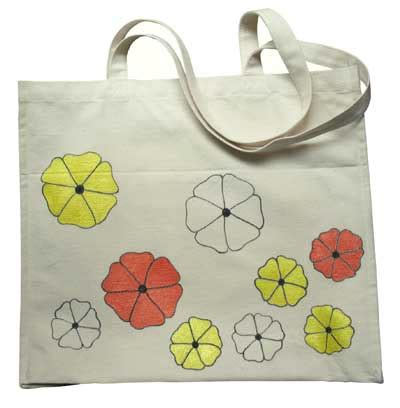 can you use acrylic paint on canvas bags painted canvas bag
