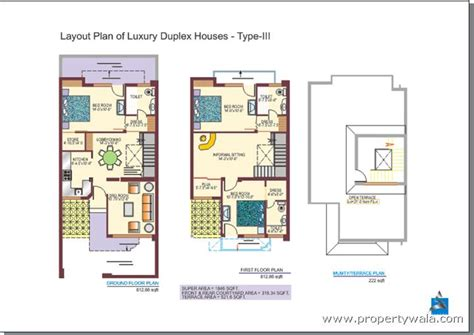 layout and land use of chandigarh sushma villas zirakpur zirakpur independent house