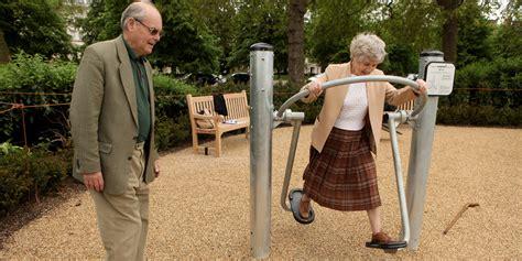 Backyard For Seniors Playgrounds For Seniors Improve Fitness Reduce Isolation