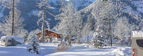 Patio Rooms Prices Winter Camping In Austria Grubhof Campsite