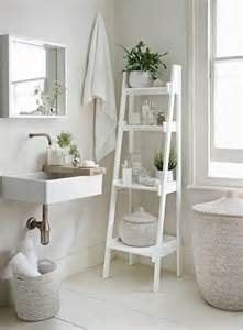 25 best ideas about white ladder shelf on