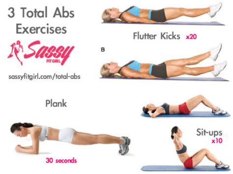 these 3 total abs exercises work your entire
