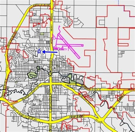 minot dakota map where is debra court in minot nd by bob timm