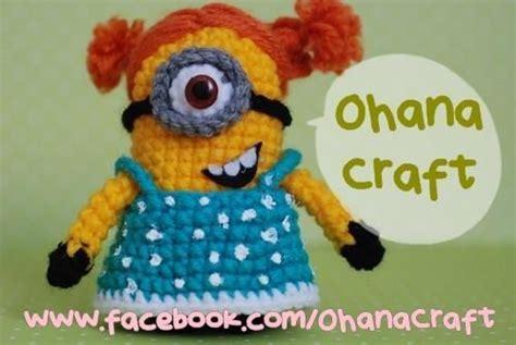 minion girl amigurumi pattern amigurumi today mini little girl minion crochet pattern ohana craft