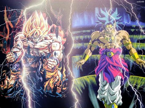 imagenes goku rap goku vs broly rap powerjv youtube