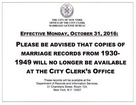City Of New York Marriage Records How To Get An Apostille In New York And Nationwide