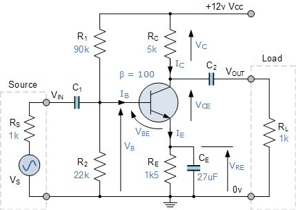 single stage transistor lifier adalah input impedance of an lifier and how to calculate it