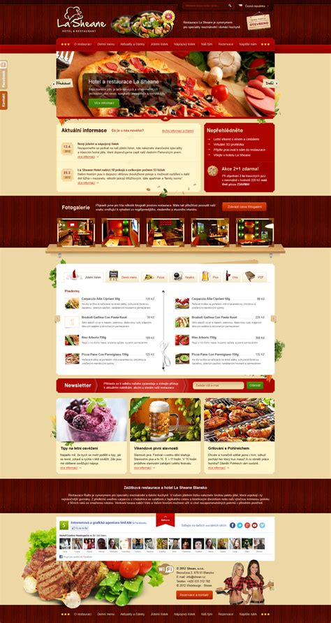 Restaurant And Hotel Template For Shean Web Agency By Romankac On Deviantart Indian Restaurant Website Templates