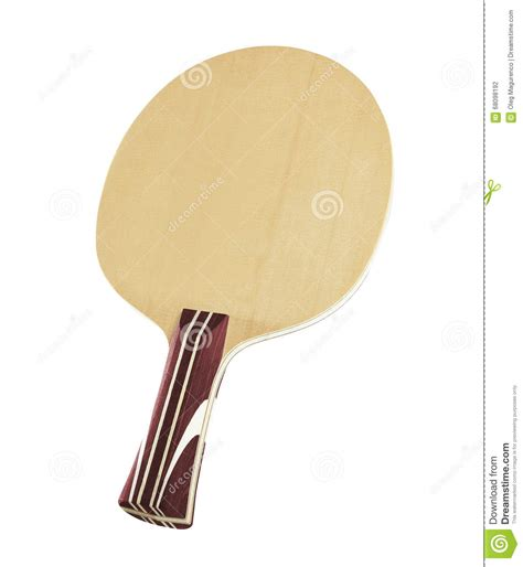 ping pong paddle stock photo cartoondealer com 21824700