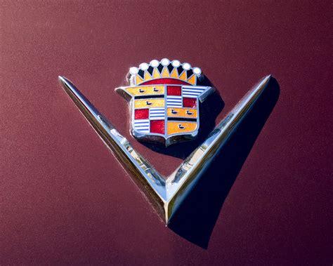 Cadillac V Emblem by 1949 Cadillac Emblem Photograph By Reger
