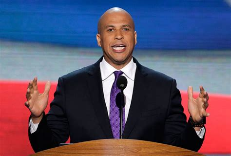 what is a celebrity booker cory booker goes to washington a celebrity and senator