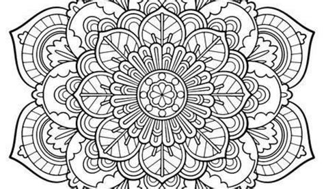 free printable mandalas coloring pages adults free